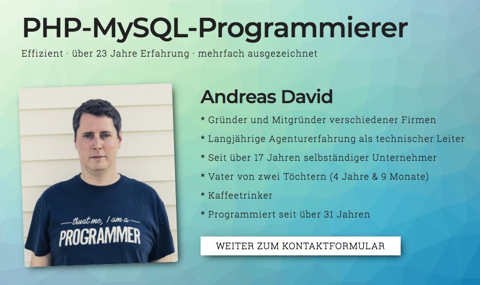 PHP MySQL Programmierer